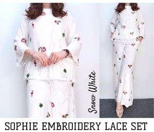 SOPHIE EMBROIDERY LACE