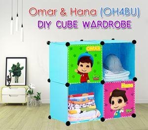 Omar & Hana (OH4BU) 4C DIY CUBE WARDROBE