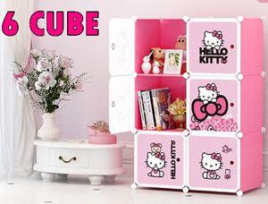 HELLO KITTY DIY CUBE WARDROBE