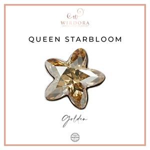 Brooch Star Queen Golden Shadow
