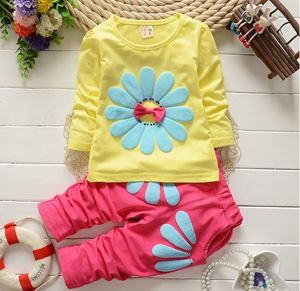Baby Girls Clothing Set - Yellow Set