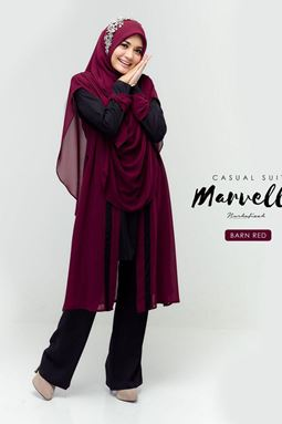 MARVELLA SUIT (BARN RED)