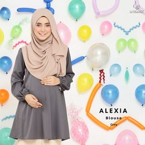 Alexia Blouse : Grey