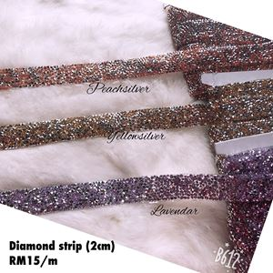 Diamond strip 2cm