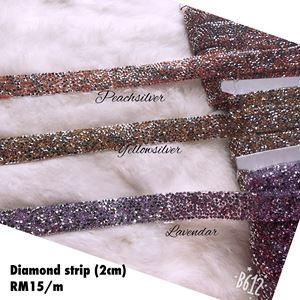 Diamond strip 2cm