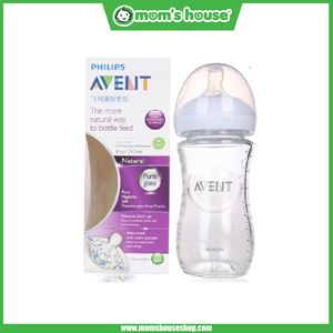 AVENT NATURAL GLASS BOTTLE