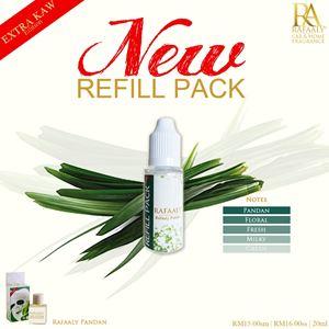 REFILL PACK 20ml - Extra Kaw Pandan