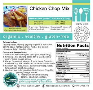 Chicken Chop/Fish & Chips Mix
