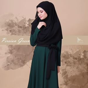 *KHAWLA CASUAL BLOUSE (PERSION GREEN)*