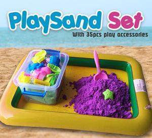 PlaySand Set - 2KG Sand