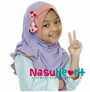 Instant Shawl Nasuheart SIZE L (Maisarah 08)
