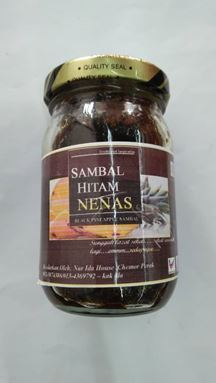 SAMBAL HITAM NENAS