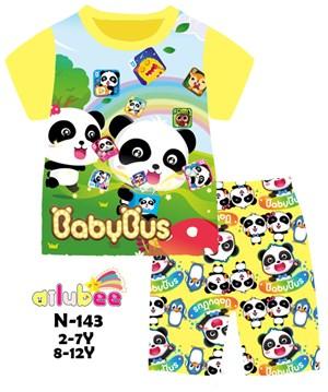 @  N-143 AILUBEE BABY BUS CASUAL  WEAR ( 2-12Y )