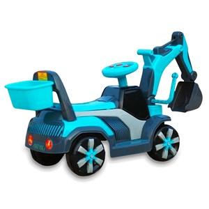 KIDS EXCAVATOR ELECTRIK 4 WHEELS CAR