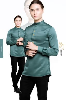 KURTA LUTH - EMERALD GREEN