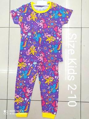 Pyjamas  PURPLE LITTLE PONY STAR : KIDS size 2 - 10