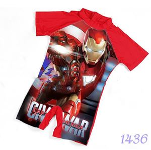 1436 Kids  Swimsuit (2 - 7 years old) - Iron Man