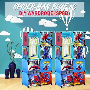 Spider-Man Blue 8C Diy Wardrobe (SP8B)