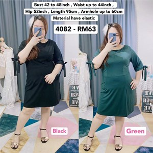 4082 * Ready Stock * Bust 42 to 48inch / 107 - 121cm
