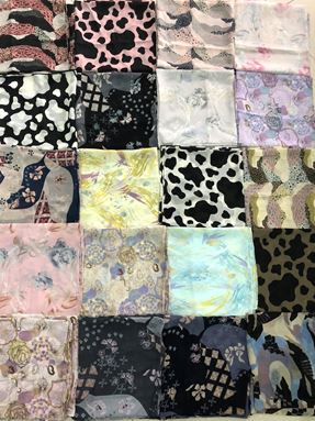 BAWAL CHIFFON VOILE PRINTED ORIGINAL FROM INDONESIA