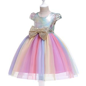 D0098M3 UNICORN DRESS ( SZ  100-150 )