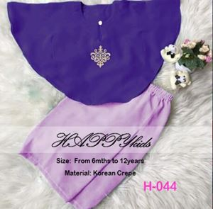 Baju Kurung Batwing - H044 - HappyKids