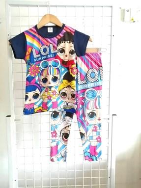 Pyjamas Short Sleeve LOL SURPRISE Blue Black (Kids 2 -8)