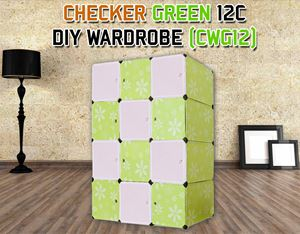 CHECKER 12C DIY WARDROBE (CWG12)
