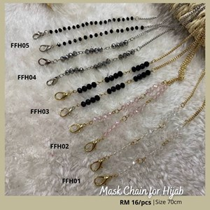 mask extender for hijab (mask chain)