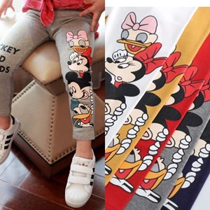 119808 KIDS MICKEY & MINNIE LEGGING  ( SIZE 100-140CM )