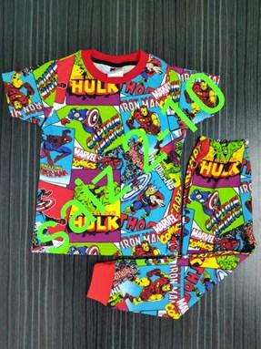 Pyjamas MARVEL SUPERHERO : Kids 2- 10