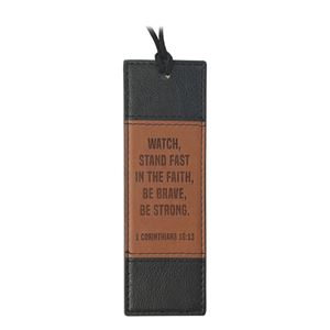 Lux-Leather Bookmarks Black Series