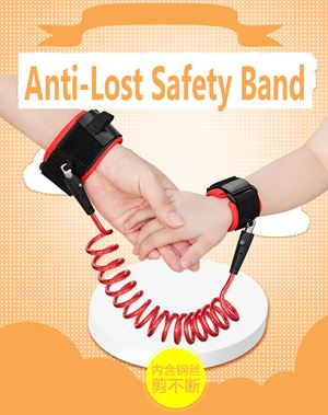 Anti lost Wrist link baby safety Band ready