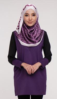 Qissara Essential Series 2 - ES210 Purple S, XL