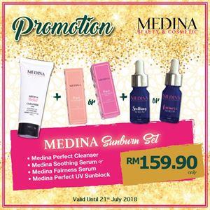 Medina Sunburn Set