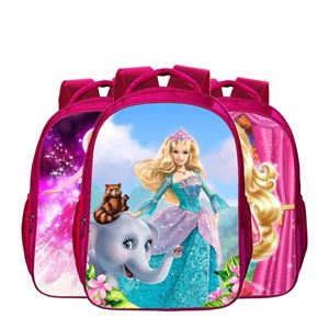 PRINCESS BARBIE SCHOOL BAGPACK