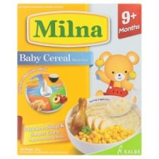 Milna Chicken Soup & Sweet Corn Baby Cereal 9+ Months 120g