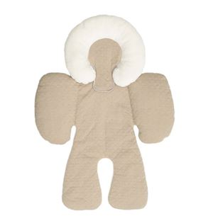 Reversible Head and  Body Support - Khaki