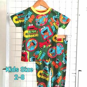 Pyjamas  ELMO GREEN COOKIE : KIDS 2- 8