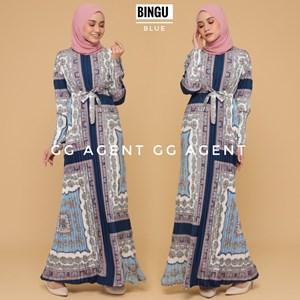 BINGU PLEATED DRESS