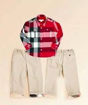 @  BOY SET  BURBERRY BROWN PANT