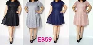 EB59 * Bust 40-46 inches (100-117CM)