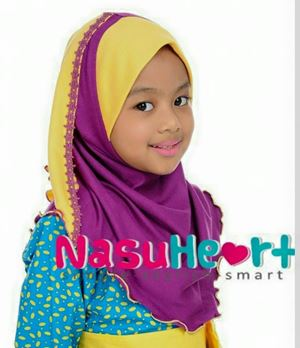 Instant Shawl Nasuheart (Wafiyya 06) sz L only