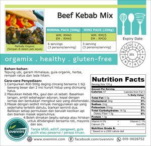 Beef Kebab Mix