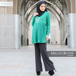 Mellati Blouse Green