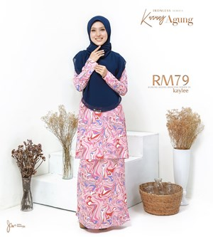 KURUNG AGUNG IRONLESS PRINTED IN KAYLEE
