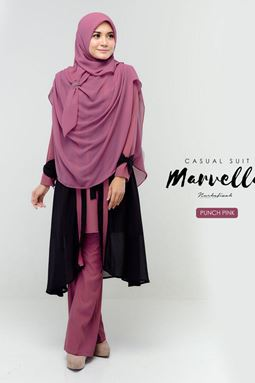 MARVELLA SUIT (PUNCH PINK)