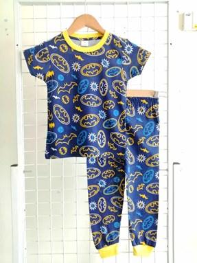 Pyjamas BATMAN DARK BLUE : BABY size 6M - 24M