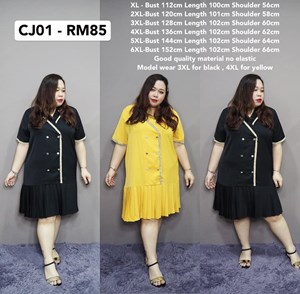 CJ01 *Pre-Order * Bust112-152cm