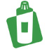 Brooch Butterfly Denim Blue